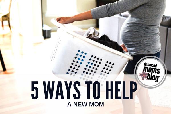 5 Ways Help a New Mom