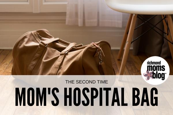 The Second Time Mom's Hospital Bag