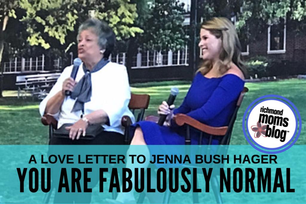 Love Letter to Jenna Bush Hager