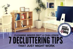 7 Decluttering Tips