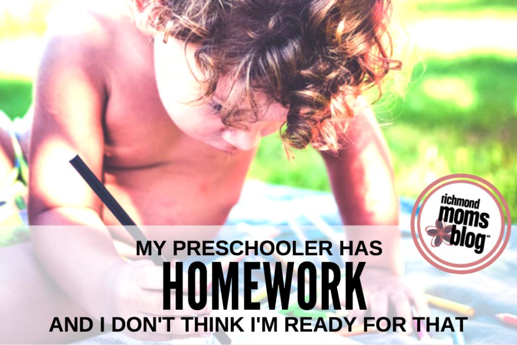My Preschooler Has Homework