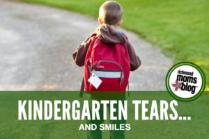 Kindergarten Tears...and Smiles