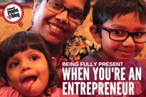 When You're an Entrepreneur