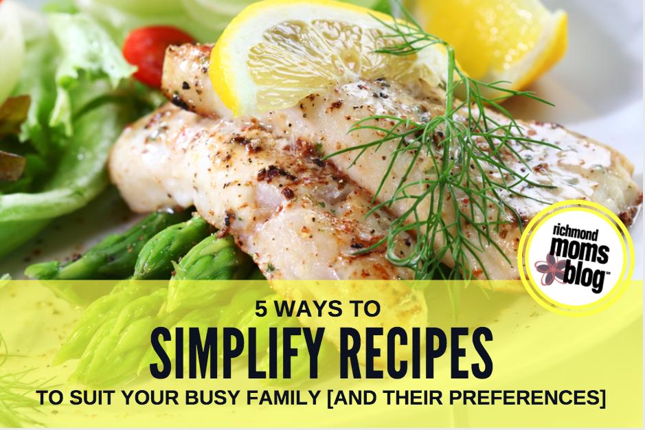 Simplify Recipes