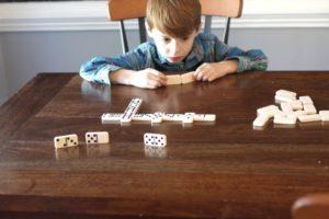 Dominoes build math literacy