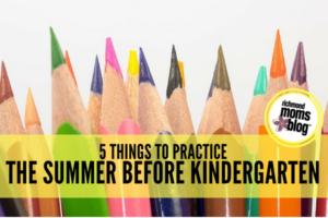kindergarten practice