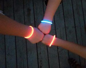 light bracelet sensory friendly July 4th