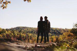 couple mountain