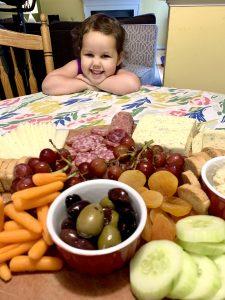 Kid-friendly dinner