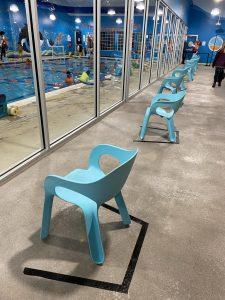 chairs swimming